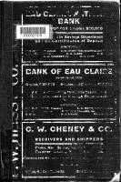 Wright's directory of Eau Claire for 1905-1906 containing a general directory of the citizens; a classified business directory; a miscelleneous directory of city and county officers, schools, churches, societies, etc.