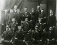 Brunner Tailor Shop with 16 tailors